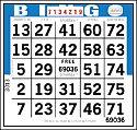 Image d'une carte de bingo